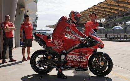 Ducati, piloti in pista a Jerez 10-11 febbraio