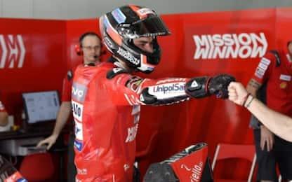 Ducati mostruosa nei test: 1° Petrucci, 2° Bagnaia