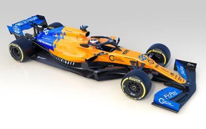 MCL34, presentata la McLaren di Sainz e Norris