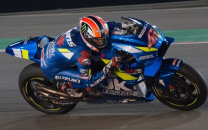 Test Losail, day-2: Rins imprendibile, 19° Rossi