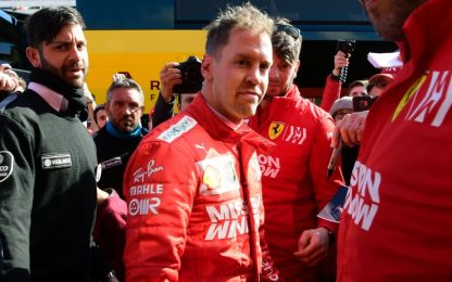 """Vettel: """"Sto ancora cercando di capire la vettura"""""""