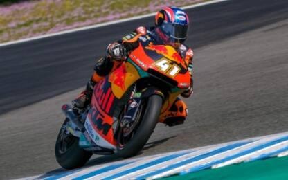 Test Losail, Moto2: in vetta Binder, Marini 9°