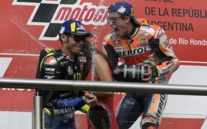 """Marquez: """"Inaspettata la stretta di mano di Rossi"""""""