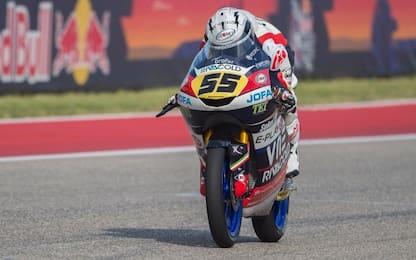 Moto3, Fenati davanti a tutti nonostante le buche