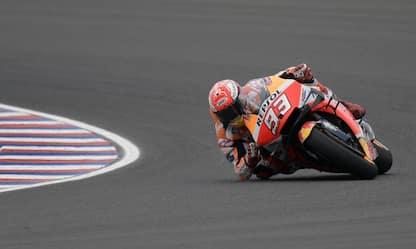 Austin, warm up: Marquez il più veloce. 6° Rossi