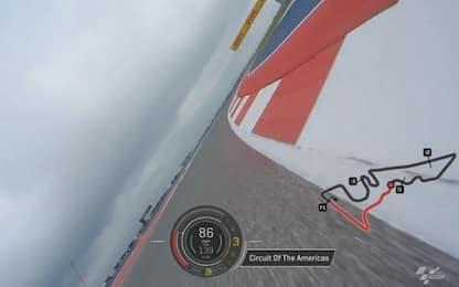 On board camera: in pista ad Austin VIDEO