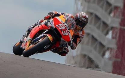 Austin, Marquez in pole. 2° Rossi, 13° Dovizioso