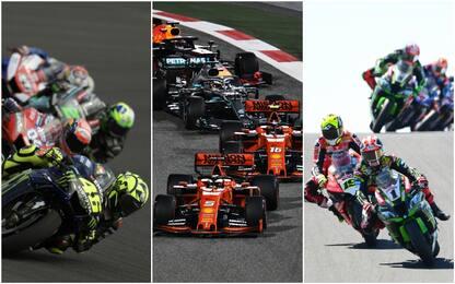 F1, MotoGP e SBK: una domenica a tutto gas su Sky