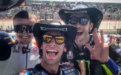 Austin: vittoria di Rins, 2° Rossi. Cade Marquez