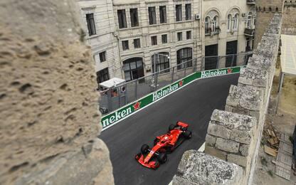 GP Baku, orari e programma su Sky