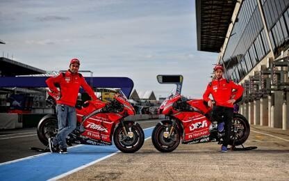 Dovi e Petrucci personalizzano le Ducati: LE FOTO