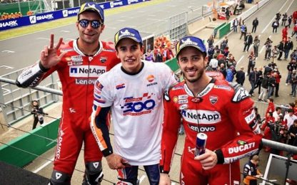 Classifica MotoGP, Marquez allunga a +8 su Dovi