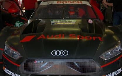 Dovizioso, test positivo a Misano con l'Audi DTM