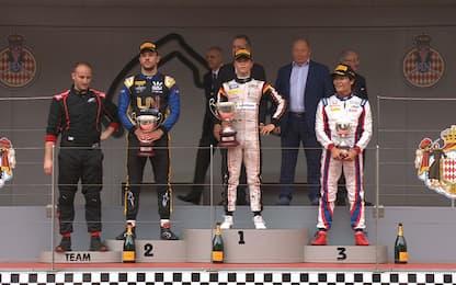 F2, Monaco: Gara1 a De Vries, Ghiotto squalificato