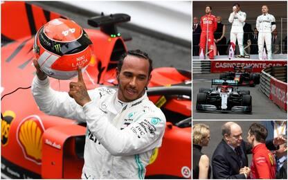 Addio a Lauda, duello in pista: highlights Monaco