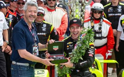 Indy 500, vince Pagenaud del team Penske