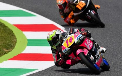 Moto3, Arbolino festeggia la prima pole stagionale