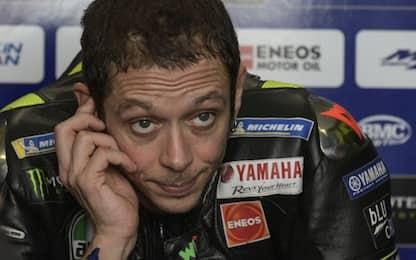 """Rossi: """"Fatico a trovare un weekend così brutto"""""""