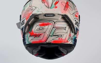Marquez, nuovo casco per il GP di casa. FOTO