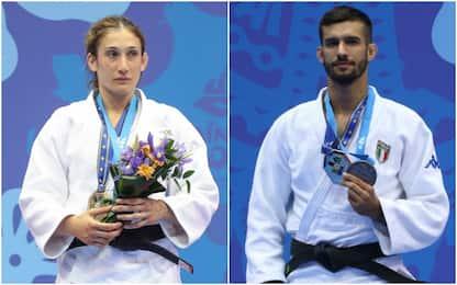 Europei Judo, un bronzo e un argento per l'Italia