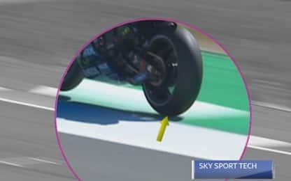 Sky Tech: penalità a Rossi, ecco perchè. VIDEO
