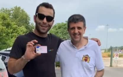 """Petrucci prende la patente: """"Ora anche in strada"""""""