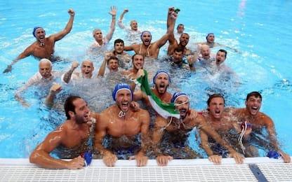Italia-Spagna 10-5, Settebello campione del mondo