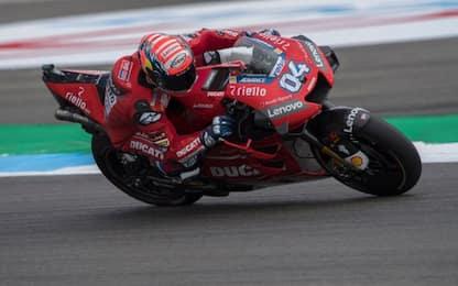 Warm up, riscossa Dovizioso: gara MotoGP alle 14