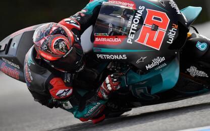 Test Brno, non solo Quartararo: tripletta Yamaha