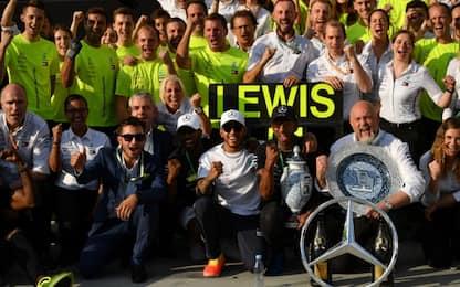 La dura legge di Lewis, le statistiche dopo il GP