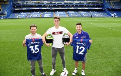 """Crutchlow e Vinales in """"prestito"""" al Chelsea. FOTO"""