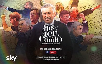 #SkyMisterCondò, Carlo Ancelotti si racconta
