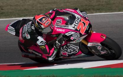 Moto2, Diggia al top: prima pole della carriera