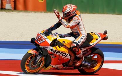 Warm up, Marquez il più veloce. 3° Dovi, 10° Rossi