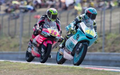 Moto3, sfida al vertice tra Dalla Porta e Arbolino