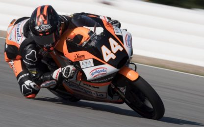Moto3: Canet riporta la KTM in pole, Arbolino 2°