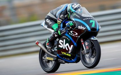 Moto3: missile Foggia, super podio ad Aragon