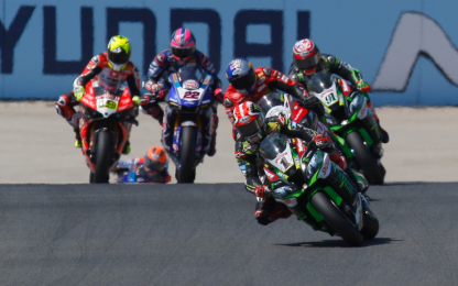 Superbike, appuntamento a Magny Cours: la guida tv