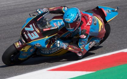 Moto2: Alex Marquez in pole, 4° Marini
