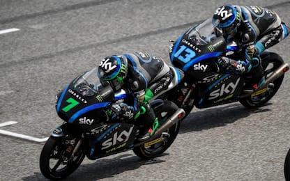 Sky VR46: Vietti fa 100 da rookie