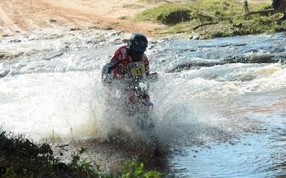 Dakar, terza tappa: super Peugeot e grande Barreda
