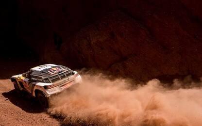 Dakar, quinta tappa: vincono Loeb e Sunderland