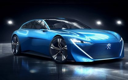 Peugeot Instinct, a Ginevra la concept autonoma