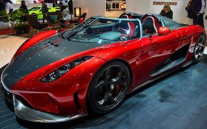Salone di Ginevra, svelata la Koenigsegg