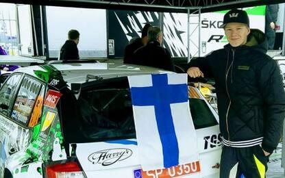 Rally: Kalle Rovanpera, baby fenomeno da corsa