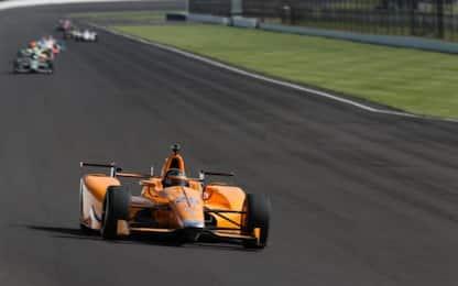 Indy, prove libere 2: Alonso fa esperienza