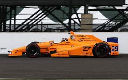 Indy500 Fast Friday: Bourdais davanti, Alonso 4°