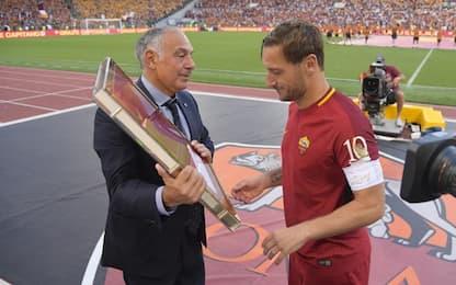 """Pallotta: """"Rimpianto Totti? No! De Rossi resta"""""""