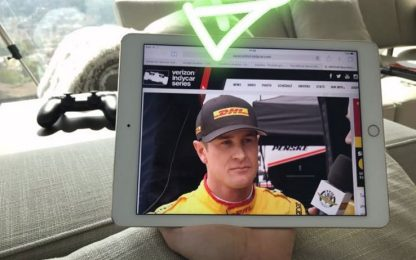 Alonso, passione IndyCar: la segue sul tablet