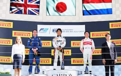 F2, in Ungheria trionfa Matsushita. Rowland 2°